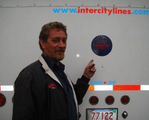Ed Jordan Intercity Lines Driver