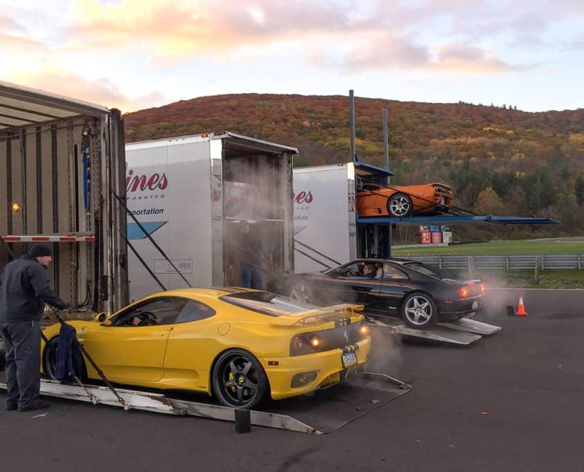 race car auto transport