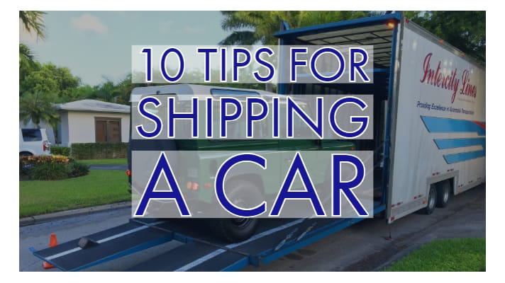 10 tips for shipping a car