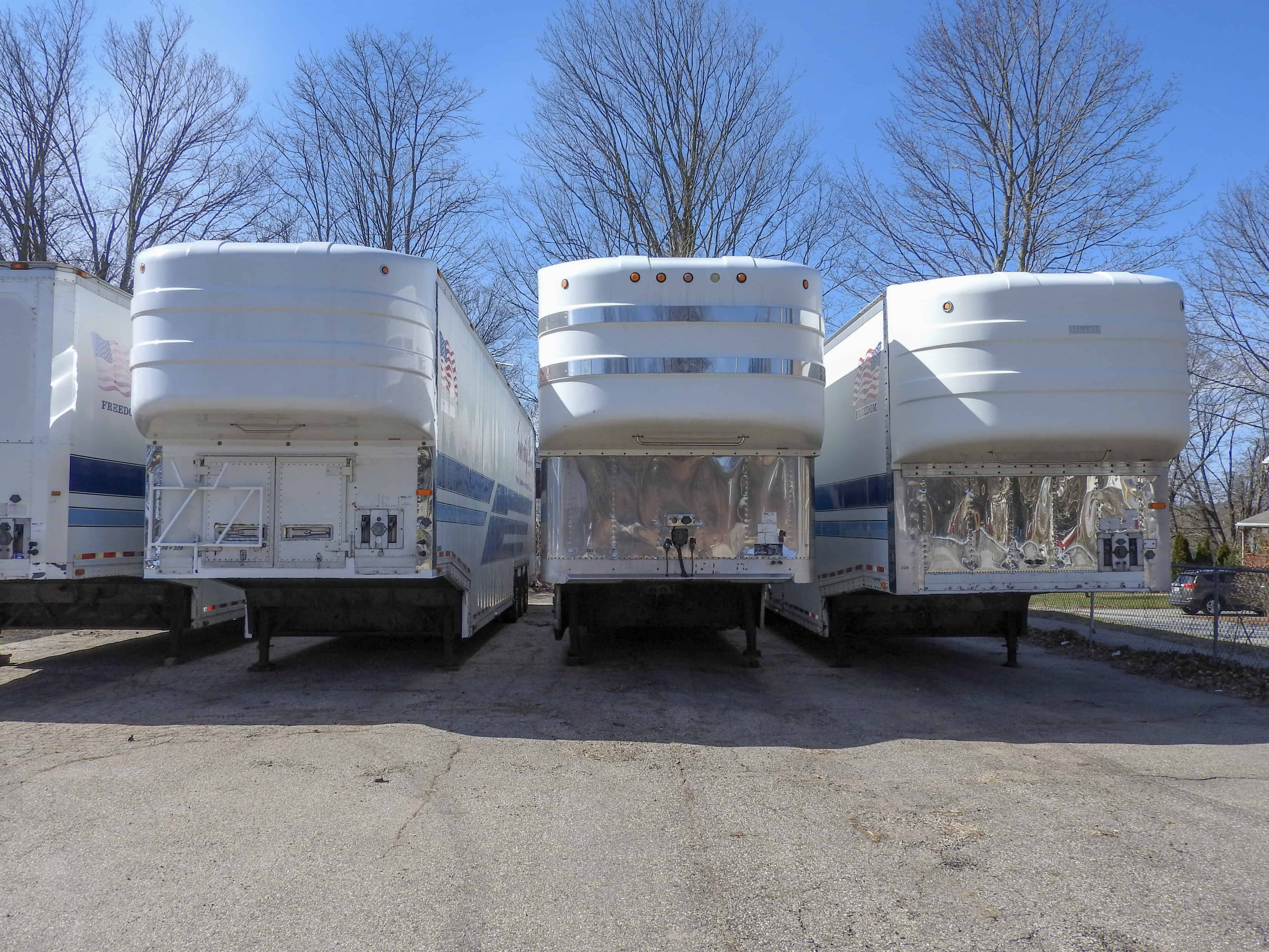 Picture of enclosed car carriers for sale