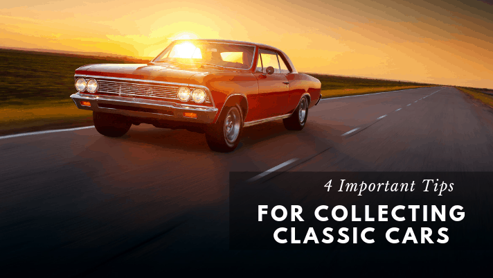 4 important tips for collecting classic cars