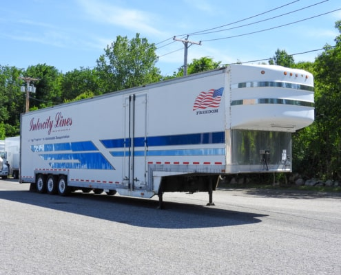 Enclosed Car Trailers For Sale - Intercity Lines