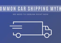 common car shipping myths